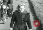Image of Dr Barbara Moore walking to Land's End United Kingdom, 1960, second 6 stock footage video 65675039456