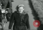 Image of Dr Barbara Moore walking to Land's End United Kingdom, 1960, second 7 stock footage video 65675039456