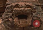 Image of Aztec sculpture Mexico, 1975, second 10 stock footage video 65675039460