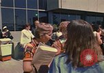 Image of Delgates arrive at Woman's Year Conference Mexico City Mexico, 1975, second 6 stock footage video 65675039465