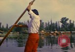 Image of Floating Gardens of Xochimilco Mexico City Mexico, 1975, second 1 stock footage video 65675039468