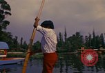 Image of Floating Gardens of Xochimilco Mexico City Mexico, 1975, second 2 stock footage video 65675039468