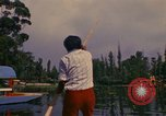 Image of Floating Gardens of Xochimilco Mexico City Mexico, 1975, second 5 stock footage video 65675039468