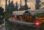 Image of Trajinera boats Mexico City Mexico, 1975, second 9 stock footage video 65675039469