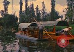 Image of Trajinera boats Mexico City Mexico, 1975, second 11 stock footage video 65675039469