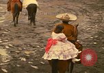 Image of horses Mexico City Mexico, 1975, second 10 stock footage video 65675039477