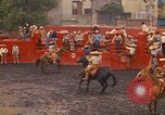 Image of horse rider Mexico City Mexico, 1975, second 5 stock footage video 65675039480