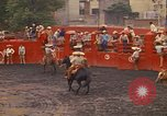 Image of horse rider Mexico City Mexico, 1975, second 6 stock footage video 65675039480
