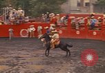 Image of horse rider Mexico City Mexico, 1975, second 7 stock footage video 65675039480