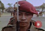 Image of Tjakrabirawa palace guard Jakarta Indonesia, 1964, second 4 stock footage video 65675039484