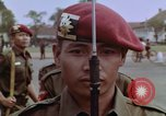 Image of Tjakrabirawa palace guard Jakarta Indonesia, 1964, second 8 stock footage video 65675039484