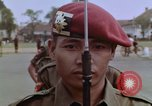 Image of Tjakrabirawa palace guard Jakarta Indonesia, 1964, second 9 stock footage video 65675039484