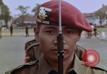 Image of Tjakrabirawa palace guard Jakarta Indonesia, 1964, second 10 stock footage video 65675039484