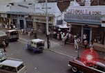 Image of traffic in Jakarta shopping area Jakarta Indonesia, 1964, second 2 stock footage video 65675039494