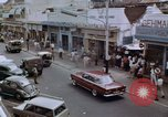Image of traffic in Jakarta shopping area Jakarta Indonesia, 1964, second 5 stock footage video 65675039494
