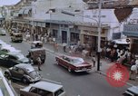 Image of traffic in Jakarta shopping area Jakarta Indonesia, 1964, second 6 stock footage video 65675039494