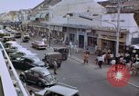 Image of traffic in Jakarta shopping area Jakarta Indonesia, 1964, second 11 stock footage video 65675039494
