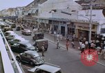 Image of traffic in Jakarta shopping area Jakarta Indonesia, 1964, second 12 stock footage video 65675039494