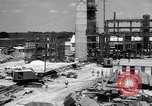 Image of Constructing a petroleum processing facility United States USA, 1943, second 1 stock footage video 65675039521