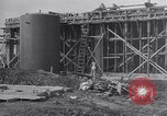 Image of Constructing a petroleum processing facility United States USA, 1943, second 6 stock footage video 65675039521