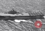 Image of USS Ticonderoga CV-14 Pacific Ocean, 1944, second 1 stock footage video 65675039522