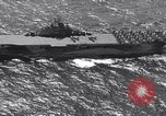 Image of USS Ticonderoga CV-14 Pacific Ocean, 1944, second 2 stock footage video 65675039522
