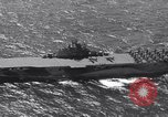 Image of USS Ticonderoga CV-14 Pacific Ocean, 1944, second 3 stock footage video 65675039522