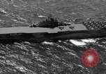 Image of USS Ticonderoga CV-14 Pacific Ocean, 1944, second 4 stock footage video 65675039522