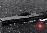 Image of USS Ticonderoga CV-14 Pacific Ocean, 1944, second 7 stock footage video 65675039522