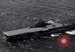 Image of USS Ticonderoga CV-14 Pacific Ocean, 1944, second 8 stock footage video 65675039522