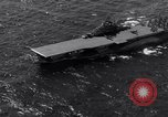 Image of USS Ticonderoga CV-14 Pacific Ocean, 1944, second 10 stock footage video 65675039522