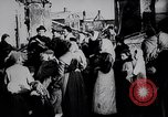 Image of British soldier reads news to civilians Europe, 1918, second 9 stock footage video 65675039557