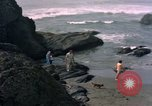 Image of family Makah Air Force Station Washington USA, 1962, second 4 stock footage video 65675039567