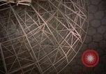 Image of radome Fylingdales Moor England, 1962, second 9 stock footage video 65675039576