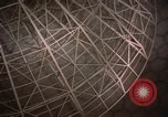 Image of radome Fylingdales Moor England, 1962, second 10 stock footage video 65675039576
