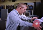 Image of technician Fylingdales Moor England United Kingdom, 1962, second 11 stock footage video 65675039578