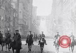 Image of 27th Division troops New York City USA, 1919, second 2 stock footage video 65675039589