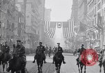 Image of 27th Division troops New York City USA, 1919, second 3 stock footage video 65675039589