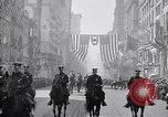 Image of 27th Division troops New York City USA, 1919, second 4 stock footage video 65675039589
