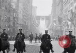 Image of 27th Division troops New York City USA, 1919, second 6 stock footage video 65675039589