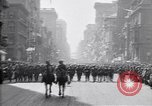 Image of 27th Division troops New York City USA, 1919, second 8 stock footage video 65675039590