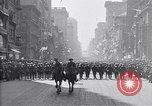 Image of 27th Division troops New York City USA, 1919, second 10 stock footage video 65675039590