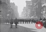 Image of 27th Division troops New York City USA, 1919, second 12 stock footage video 65675039590