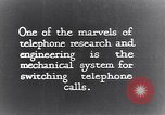 Image of early telephone switching and dialing United States USA, 1926, second 3 stock footage video 65675039599
