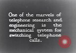 Image of early telephone switching and dialing United States USA, 1926, second 8 stock footage video 65675039599