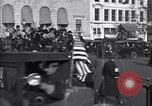 Image of President Woodrow Wilson Washington DC USA, 1918, second 1 stock footage video 65675039603