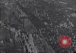 Image of crowds celebrate armistice ending World War 1 New York City USA, 1918, second 6 stock footage video 65675039606