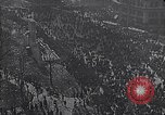 Image of crowds celebrate armistice ending World War 1 New York City USA, 1918, second 10 stock footage video 65675039606
