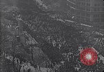 Image of crowds celebrate armistice ending World War 1 New York City USA, 1918, second 12 stock footage video 65675039606