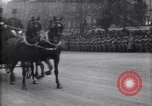 Image of President Wilson cheered in parade Paris France, 1918, second 7 stock footage video 65675039611